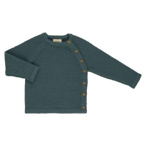Voksi® Wool, Honeycomb Genser, Sea Green