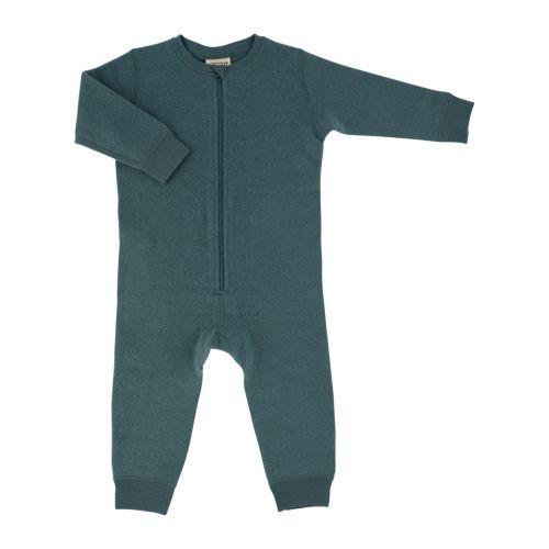 Voksi® Wool, Merinoull Jumpsuit, Sea Green