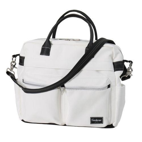 Emmaljunga Travel Leatherette White