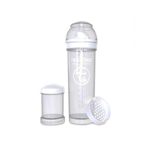 Flaske, Twistshake, Anti-Colic - 330ml, Hvit