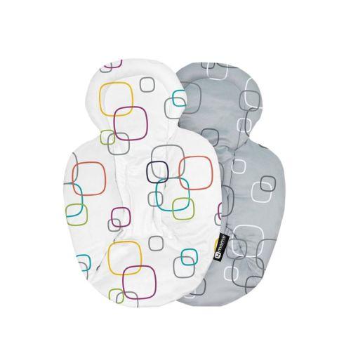4Moms Newborn insert, White/Grey