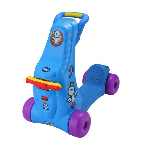 Gåbil/Sparkesykkel, 2i1, Blå