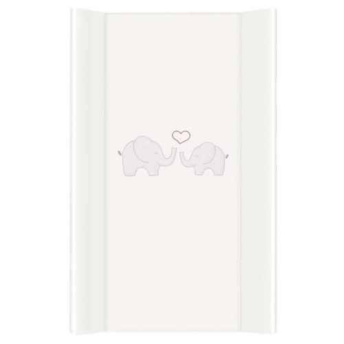 Stellepute, Ceba Baby, Hvit med elefant, 50x80 cm