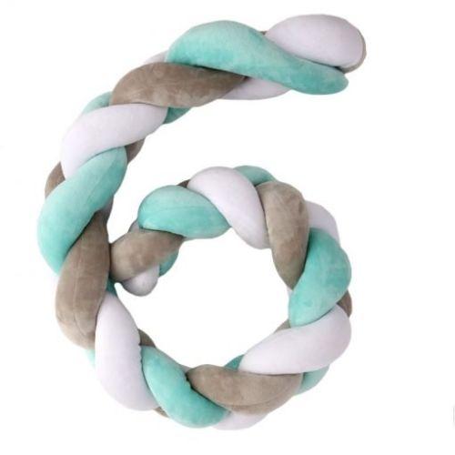 Plastimyr Twist, flettekant, turkis 200 cm