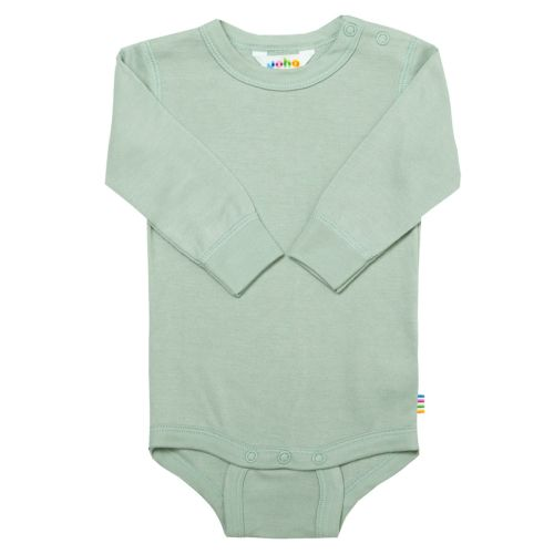 Joha Body Bambus w/long sleeves - L-T Green