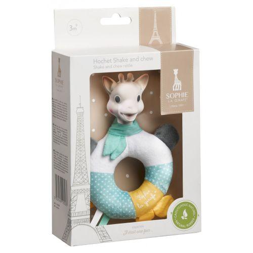 Biteleke, Sophie la Girafe - shake and chew rattle