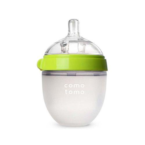 Comotomo tåteflaske natural feel grønn 150 ml