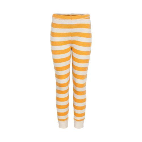 Celavi - Stripete Bukse - Mineral Yellow