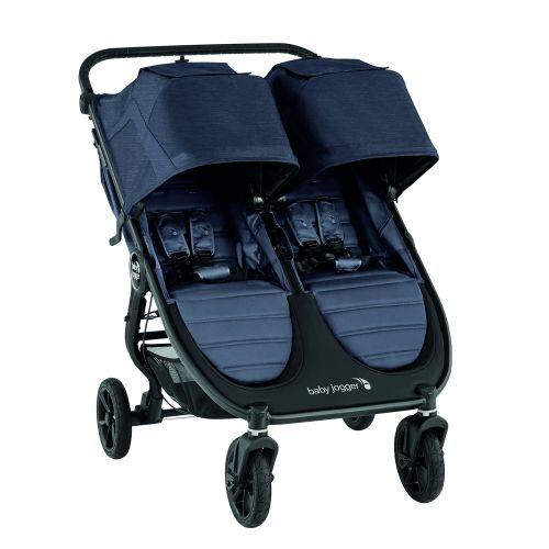 Tvillingvogn, City Mini GT 2 Double, Babyjogger, Garbon