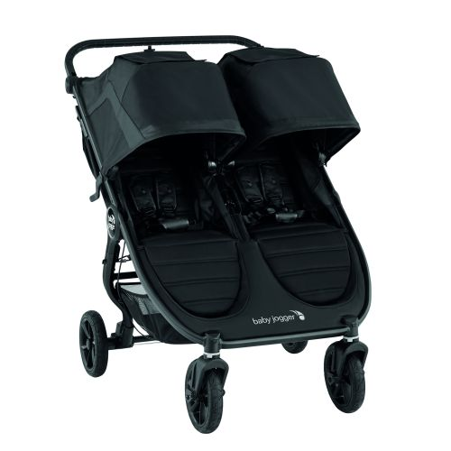 Tvillingvogn, City Mini GT 2 Double, Babyjogger, Jet