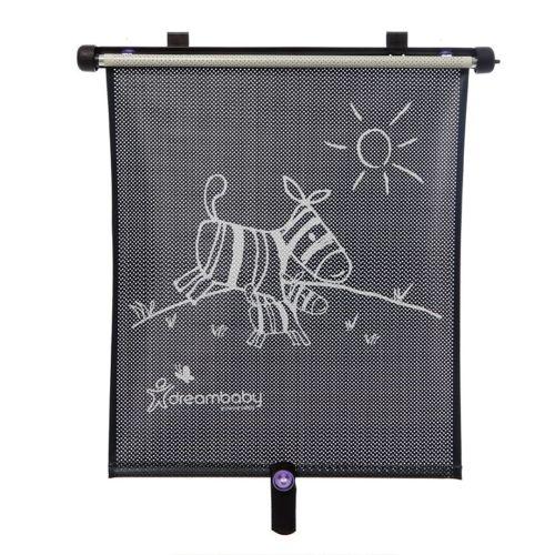 Solskjerm for bilvindu, dobbelsidig og regulerbart, Dreambaby, 2pk