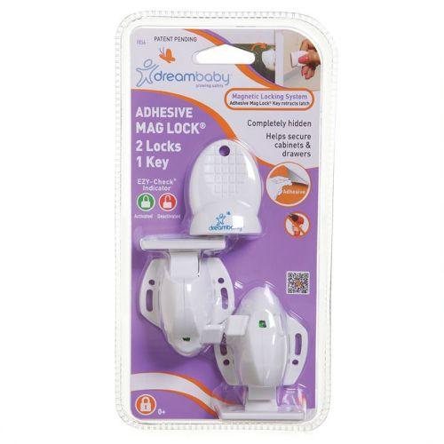 Skuffe og Skap sikring med magnetisk lås, Dreambaby, 2 pk