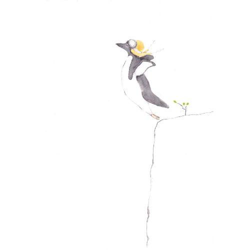 Poster, Tails, Pingvinen som flyr, 30x40 cm