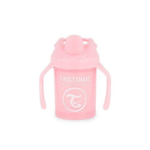 Mini Kopp, Twistshake, Pastell Rosa - 230ml, 4+m