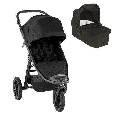 Pakketilbud, BabyJogger®, Vogn, City Elite 2 - Jet + Bag