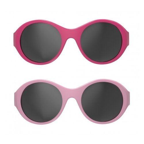 MOKKI Solbriller 0-2 År - Rosa 2pk