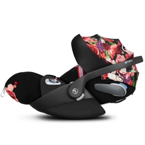 Bilstol, Cybex, Cloud Z i-Size FE Spring Blossom, Dark Black