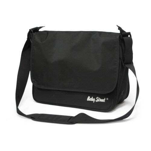 Stelleveske, Messenger Bag, Babystreet, Sort