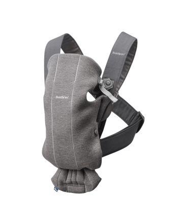 Babybjørn Bæresele Mini 3D Jersey, Mørkegrå