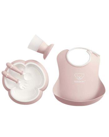 Babybjørn middagssett, powder pink