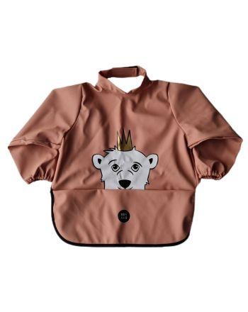 Babylivia - Langermet smekke - Isbjørnen Isak Muted Clay