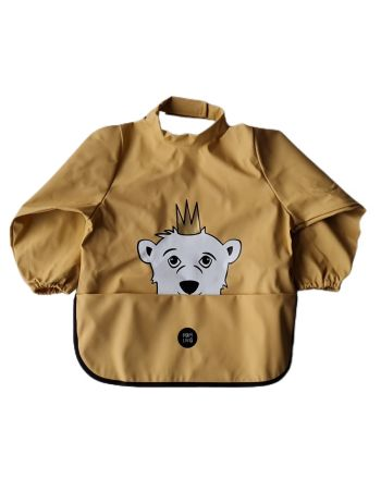 Babylivia- Langermet smekke - Isbjørnen Isak New Wheat