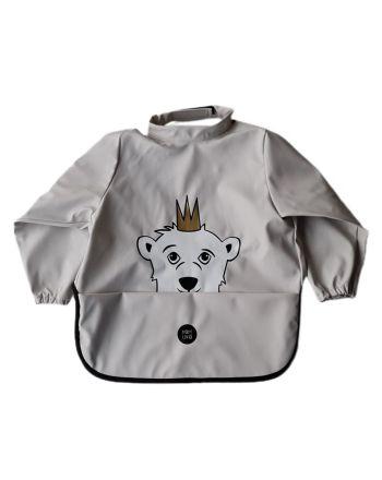 Babylivia - Langermet smekke - Isbjørnen Isak Rainy Day