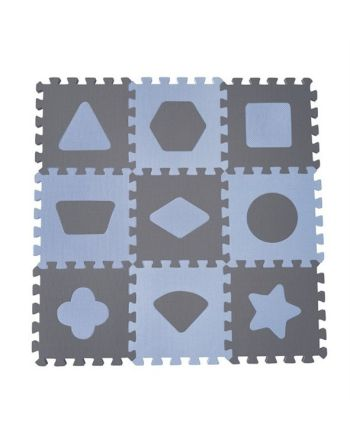 Babydan - Geo Lekematte, Blå , 90x90 cm