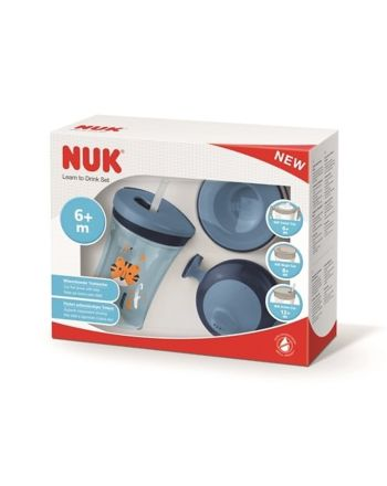 NUK Learn To Drink Set -Blue