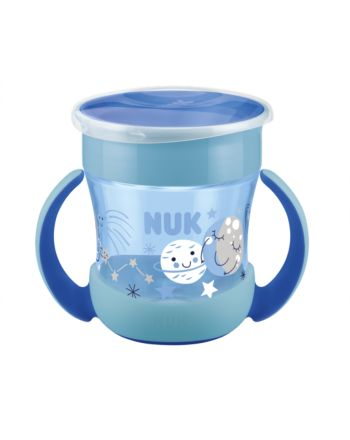 NUK, Evolution Mini Magic Cup, Glow In The Dark - Blue
