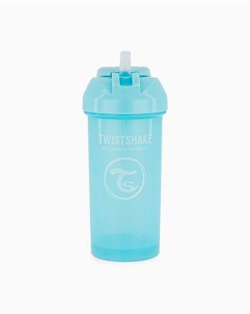Sugerørskopp, Twistshake, Pastell Blå, 360 ml