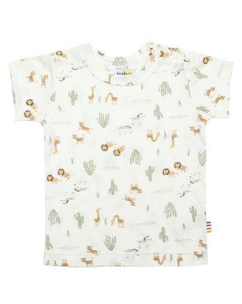 Joha - Bambus T-Shirt - Wild, Offwhite