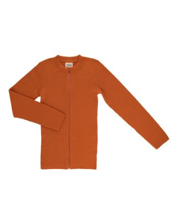 Voksi® Wool, Merinoull Genser, Warm Orange