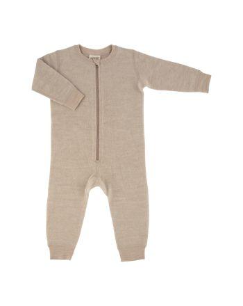 Voksi® Wool, Merinoull Jumpsuit, Melange Sand