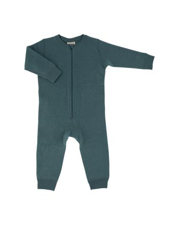 Voksi® Wool, Merinoull Jumpsuit, Sea Green