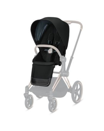 Sittedel, Cybex, Priam - Deep Black