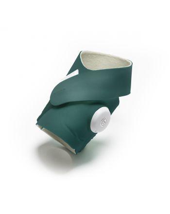Fabric Sock, Owlet, Deep Sea Green