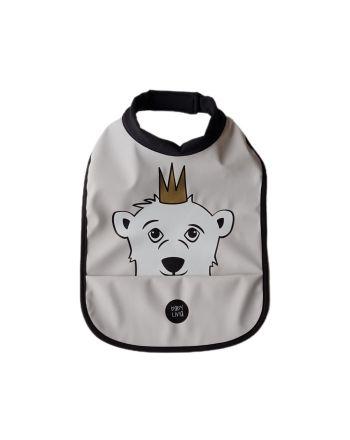 Babylivia -  Høyhalset smekke - Isbjørnen Isak Rainy Day