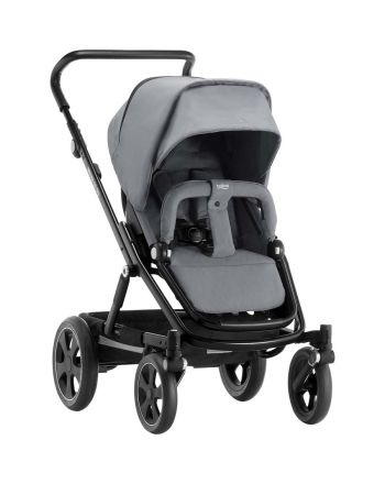 Vogn, Go Big 2, Britax, Steel Grey