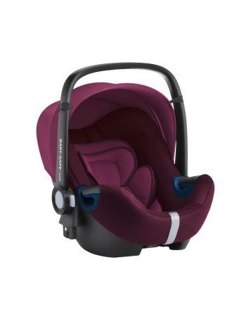 Bilstol, Baby-Safe² i-size, Britax, Burgundy Red, 40-83 cm