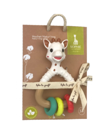 Biteleke, Sophie La Girafe, So pure natur'rings rattle