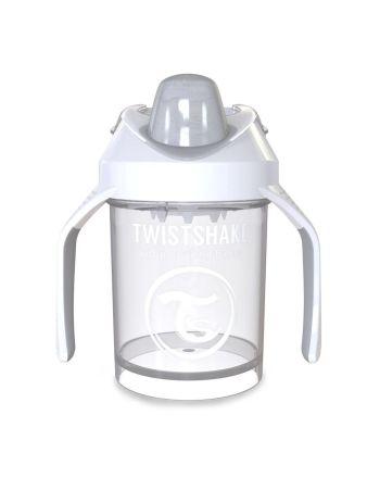 Mini Kopp, Twistshake, Hvit - 230ml, 4+m