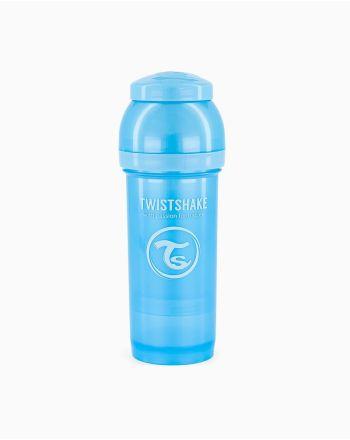 Flaske, Twistshake, Anti-Colic - 260ml, Pearl Blue