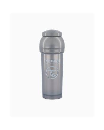 Flaske, Twistshake, Anti-Colic - 260ml, Pearl Grey