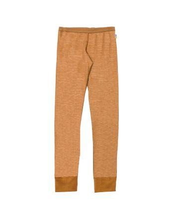 Leggings, Joha, Ull/Bambus, Kobber