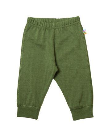 Leggings, Joha, Ensfarget, Grønn