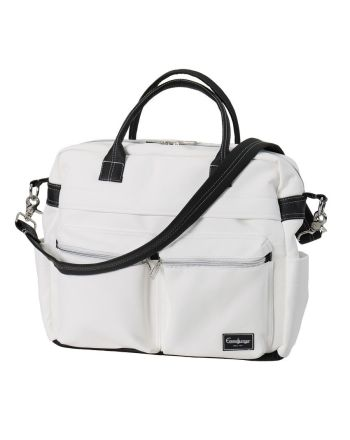 Emmaljunga Travel Leatherette White