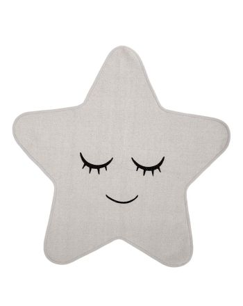 Bloomingville gulvteppe Star, hvit