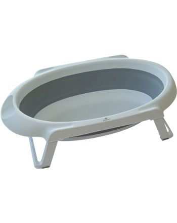 Sammenleggbart Badekar, BabyDan - Hvit/Grå 30L