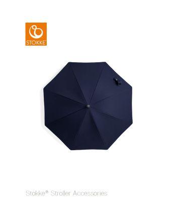 Stokke® barnevogn parasoll, Deep blue/black